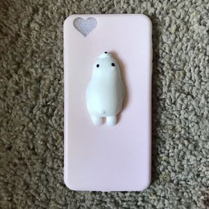 Accessories - Kawaii Squishy Seal iPhone 6/6s Case